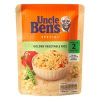 Uncle Bens Golden Vegetable Rice 250g