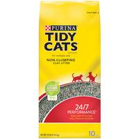 Purina Tidy Cats Non Clumping Cat litter 24/7 Performance 4.54kg