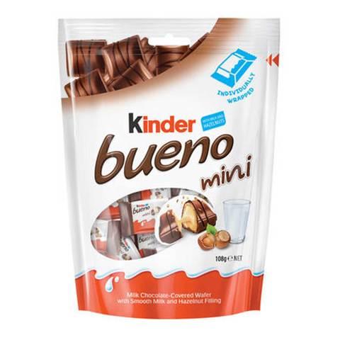 Buy Kinder Bueno Mini Chocolate 108 G Online Shop Food Cupboard On Carrefour Saudi Arabia