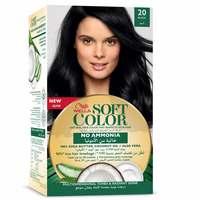 Wella soft color hair color kit 20 black
