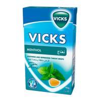 Vicks drops mint sugar free 40 g