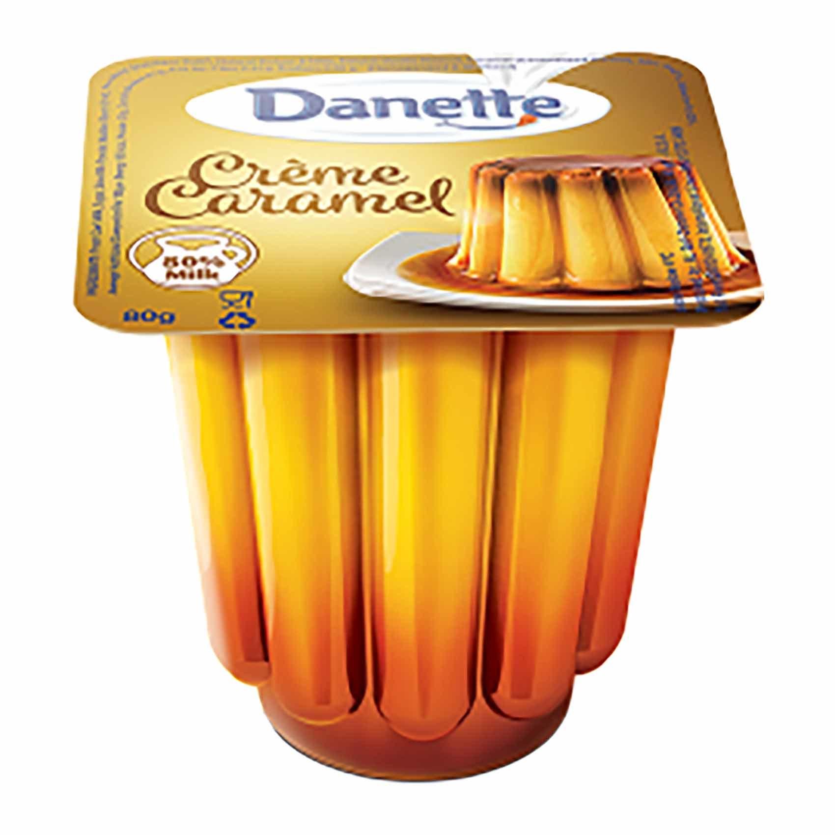 Buy Danette Cream Caramel 75 Gm Online Shop Fresh Food On Carrefour Egypt