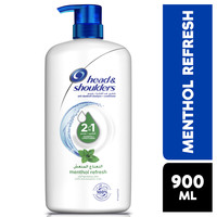 Head & shoulders menthol refresh 2in1 anti-dandruff shampoo with conditioner 900 ml