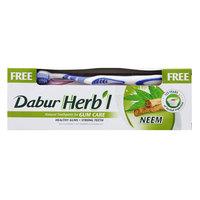 Dabur Herbal Gum Care Neem Toothpaste With Free Toothbrush 150g