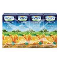 Lacnor Essentials Orange Juice 180ml x Pack of 8