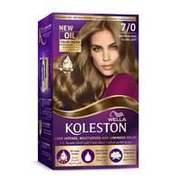 Wella Koleston Permanent Hair Color Kit 7/0 Medium Blonde