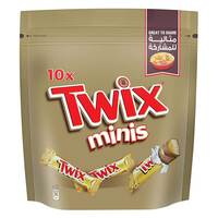 Twix Miniatures 200g x Pack of 2
