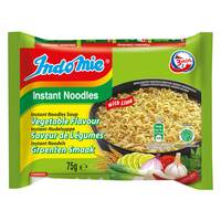 Indomie Vegetable Flavour Instant Noodles 75g x Pack of 5