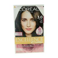 L'Oreal Paris Excellence Creme Hair Color 3.0 Dark Brown
