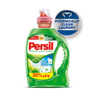Persil Liquid Detergent Gel Deep Clean White Flower 3L