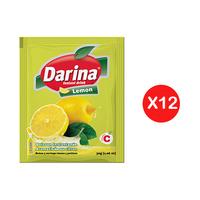 Darina Instant Powder Drink Lemonade 30GR X12