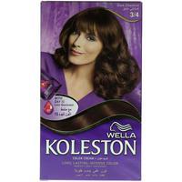 Wella Koleston Permanent Hair Color Kit 3/4 Dark Chestnut