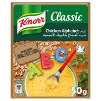 Knorr Packet Soup Alphabet 50g