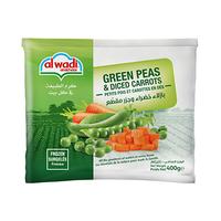 Al Wadi Al Akhdar Peas & Diced Carrots 400GR