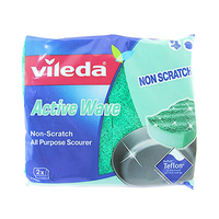 Vileda Scourer All Purpose Medium 2 Pieces