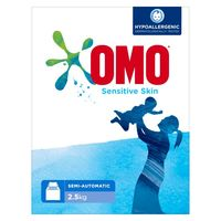 OMO Top Load Laundry Detergent Powder Sensitive Skin 2.5kg