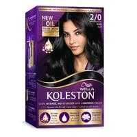 Wella Koleston Permanent Hair Color Kit 2/0 Black
