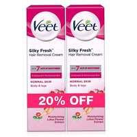 Veet Cream Normal Skin 100mlx2