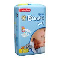 Bambi 1 value pack 1 newborn 2 - 4 kg x 48