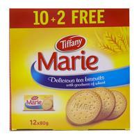 Tiffany maria tea biscuits 80 g x 10 + 2 free