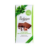 Belgian Chocolate Hazelnut No Sugar Added 100GR