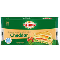 President Sandwich with Cheddar 400g
