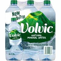 Volvic Natural Mineral Water 1.5L × Pack of 6