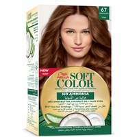 Wella soft color hair color kit 67 chocolate