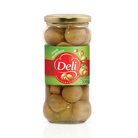 Deli Mushrooms Whole Jar Glass 330GR