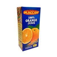 Maccaw Juice Orange Carton 1L