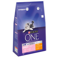 Purina One Chicken and Whole Grains Cat Food 3kg