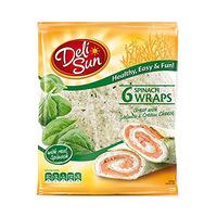 Delisun Tortilla With Spinach 360GR 6 Pieces