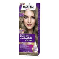 Schwarzkopf Palette 8-1 Light Blonde Cendre Intensive Hair Color Cream
