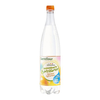 Carrefour les aromatisees sparkling water 1 L