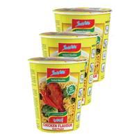 Indomie Instant Noodles Cup Chicken 60gx3