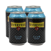 Evervess Soda Can 330ML X4