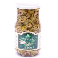 Halwani Bros Slice Green Olives 650g