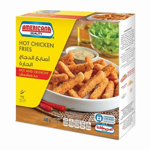 Buy Americana Hot Crunchy Chicken Fries 400 G Online Shop Frozen Food On Carrefour Saudi Arabia