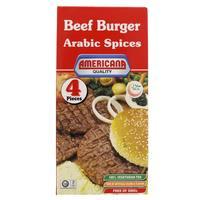 Americana Arabic Spices Beef Burger 224g