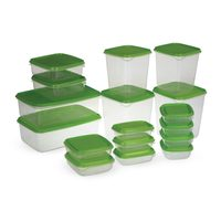 Plastic food saver set 17 pieces