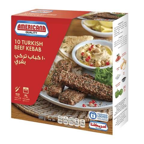 Buy Americana Turkish Beef Kebab 600 G Online Shop Frozen Food On Carrefour Saudi Arabia