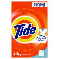 Tide Top Load Laundry Powder Detergent Original Scent 4.5kg