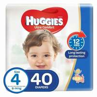 Huggies Baby Diapers Size 4 40 Count x Pack of 2