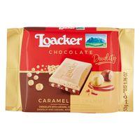 Loacker Duality Caramel Hazelnut Chocolate 50g