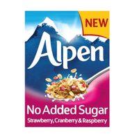 Alpen No Added Sugar Strawberry, Cranberry and Raspberry Muesli 560g