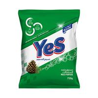 Yes Powder Detergent Pine 750GR