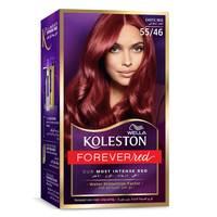 Wella Koleston Permanent Hair Color Kit Exotic Red 55/46