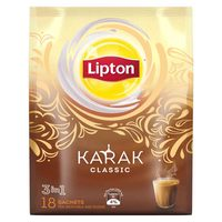 Lipton Karak 3in1 Instant Tea Classic 18 Sachets