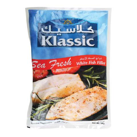 Buy Klassic White Fish Fillet 1kg Online Shop Frozen Food On Carrefour Uae