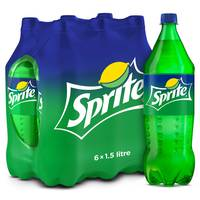 Sprite Soft Drink 1.5L x Pack of 6